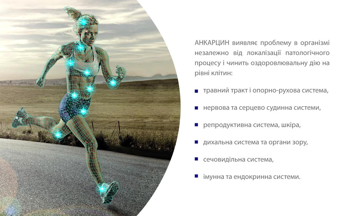Анкарцин - оздоровлення організму на клітинному рівні