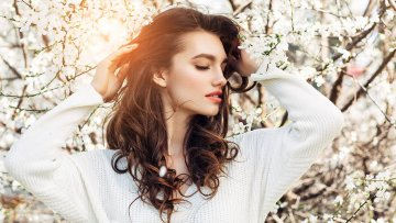 Волосы как шёлк: весенний уход | Amrita