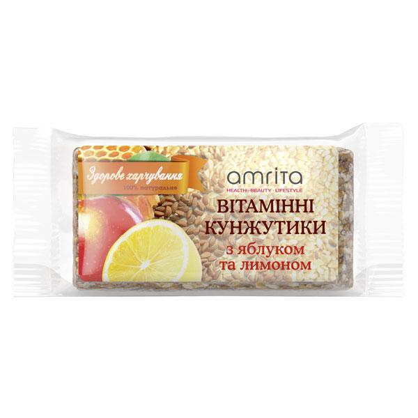 Кунжутики вітамінні «Яблуко-лимон», 45 г