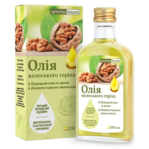 Олія волоського горіха, 200 мл