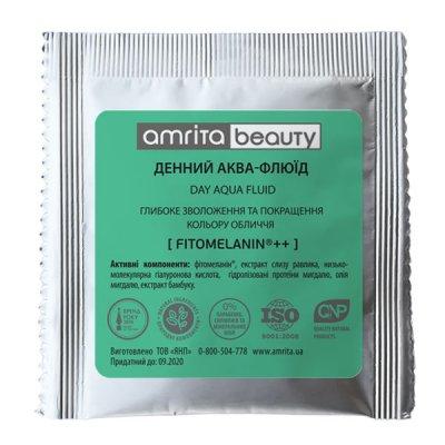 Денний аква-флюїд для обличчя 30+ (пробник) | Amrita - зображення 1