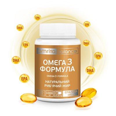 Омега 3 формула | Amrita - изображение 3