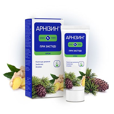 Арнізин крем при застуді | Amrita - зображення 1