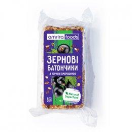 Зерновые батончики с черной смородиной