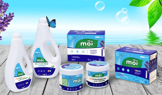 Засоби для прання Amrita Home під новою торговою маркою «MOI BIO»! | Amrita